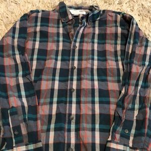 Boys plaid shirt xl 14/16